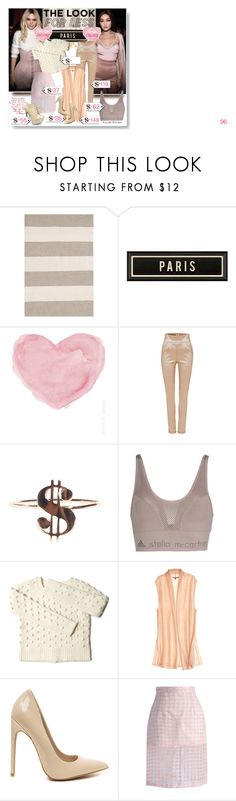"""""""The Look for less"""" by mairoula4189 on Polyvore featuring Dash & Albert, Spicher and Company, French Country, adidas, Calypso St. Barth, Chicwish and AX Paris"""