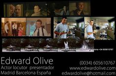 Actores Madrid locutores Edward Olive : British English actors in Madrid Spain for films, tv, commercials and corporate videos. English voice-over.      http://www.edwardolive.com/videos-actor-ingles-madrid-espana-english-british-spain1.php | edwardolive