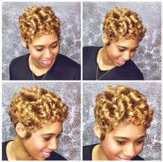 Golden Blonde Curls @raqpowers - http://community.blackhairinformation.com/hairstyle-gallery/relaxed-hairstyles/golden-blonde-curls-raqpowers/