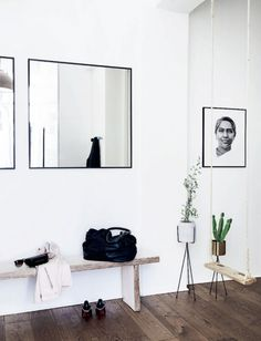 design attractor: Scandinavian Apartment in a New York Style