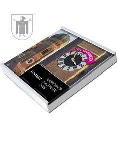 München-Kalender, Edition 2016 in weiß Money Clip, Calendars 2016, Clock, Money Clips