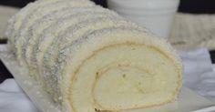 Nagyon finom, pillekönnyű sütemény, kókuszrajongóknak feltétlenül ajánlom. Hozzávalók 32 x 34 cm-es (gázos) tepsihez A...
