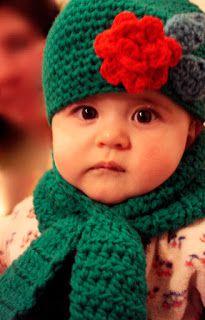 ponnekeblom: een gat in mijn sjaal-heel leuk patroon voor kinderen.