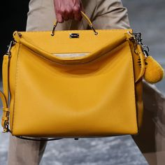aed443d0f41f Yellow peekaboo for men Bags 2015