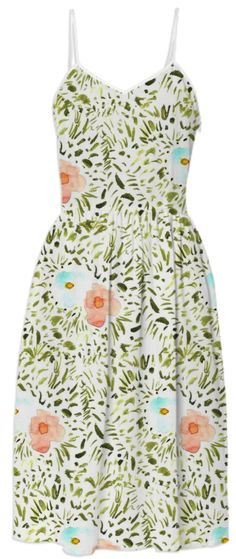 Watercolor Garden Dress from Print All Over Me