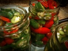 DIY Canning Jalapenos Canning Jalapenos from the garden! This is a family favorite! In Florida, I can pretty much grow jalapenos year round. While my Spring garden is slowly wilting away, our peppe…