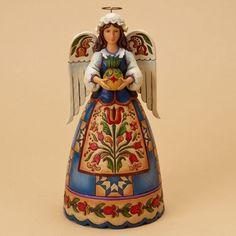 I Welcome Thee-Williamsburg Angel Figurine 50