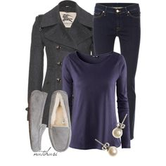"""""""Comfy School Outfit"""" by natihasi on Polyvore"""