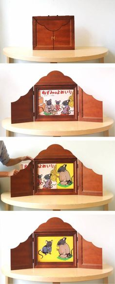 Shake up your story time with kamishibai, a colorful and dynamic form of Japanese storytelling!