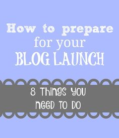 My Brand New Blog and How to Prepare for a Blog Launch - the frugal millionaire