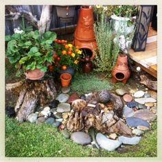 Its a rock garden!