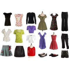 Capsule wardrobe summer