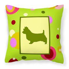 Carolines Treasures Australian Terrier Decorative Pillow - CK1009PW1414