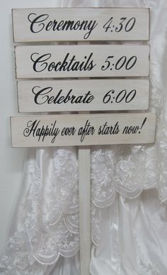 Rustic Wedding Signs Directional Decoration by dlightfuldesigns, $79.00