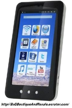 """'Refurbished Craig 7"""" Google Android 2.2 Tablet' is going up for auction at  4pm Sun, Mar 10 with a starting bid of $30."""