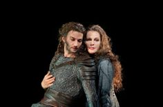 "Jonas Kaufmann as Siegmund and Eva-Maria Westbroek as Sieglinde in Wagner's ""Die Walkure"""