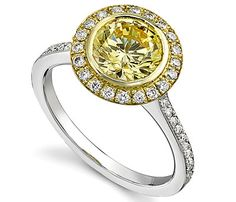 WOW gorgeous!! I don't love gold, but yellow I adore!