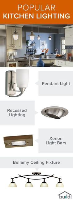 Your kitchen's lighting fixtures should be looked at as functional design elements. With help from Build.com and a little outside the box thinking, you can turn your kitchen into a utilitarian work of art! Check out tips, tricks and a variety of lighting options at Build.com today.