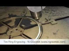 Tire Mould Engraving Machine - N-Gravetek, India Programmed by SprutCAM