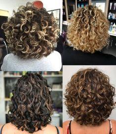 Short Permed Hair, Layered Curly Hair, Haircuts For Curly Hair, Curly Hair Tips, Curly Hair Care, Curly Bob Hairstyles, Curly Hair Styles, Medium Curly Haircuts, Cut My Hair