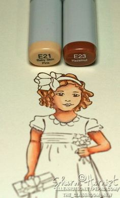 tips on how to color people with Copic markers