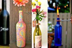 5 DIY pour recycler ses bouteilles de vin vides