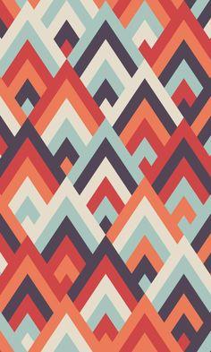 Unusual Wallpaper, Retro Wallpaper, Pattern Wallpaper, Geometric Shapes Wallpaper, Geometric Art, Retro Pattern, Pattern Art, Pattern Design, Triangular Pattern