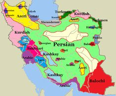 Persian ('Farsi' in Persian) is the national language of Iran, but the country is more linguistically diverse than most people imagine. Geography Map, Asia Map, Cradle Of Civilization, Alternate History, Historical Maps, History Facts, World History, Writing, Country