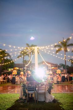 wedding reception; photo: Once Like A Spark