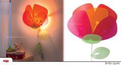 Lampe veilleuse Coquelicot Haba