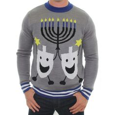 The Hanukkah Ugly Christmas Sweater | Tipsy Elves