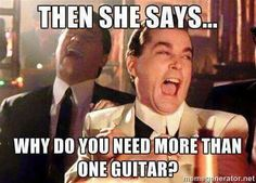 For all the musicians wives that never got it! Appreciate your man's tallent!