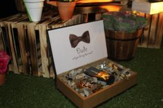 DUDE Will you be my Bestman?  Personalized Box for Bestman by SandPearl Events :)