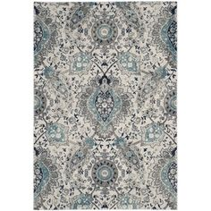 Buy the Safavieh Cream / Light Grey Direct. Shop for the Safavieh Cream / Light Grey Madison X Rectangle Synthetic Power Loomed Contemporary Area Rug and save. Paisley Rug, Lohals, Transitional Home Decor, Transitional Style, Berber, Textiles, Soothing Colors, Cream Area Rug, Traditional Rugs