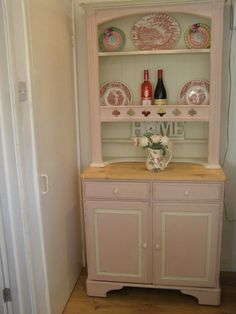 Love the pink, ducal dresser AS Antionette and Original.x