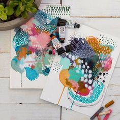 Watercolor Mixing, Watercolor Art, Illustrations, Illustration Art, Online Art Classes, Australian Artists, Mark Making, Community Art, Art Sketchbook