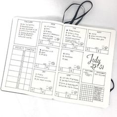 Weekly spread/daily log idea for tracking health and fitness (including water consumption, meals, steps, and sleep) in your bullet journal Bullet Journal Fait, Planner Bullet Journal, Organization Bullet Journal, Bullet Journal Junkies, Bullet Journal Spread, Bullet Journal Layout, Planner Organization, Bullet Journal Inspiration, Bullet Journals
