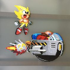 Sonic hama beads by brycecorp