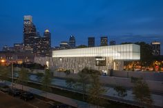 Built by Tod Williams + Billie Tsien in Philadelphia, United States Last year,The Barnes Foundation-Albert Barnes collection ofFrench Impressionist, Post-Impressionist, early Modern...