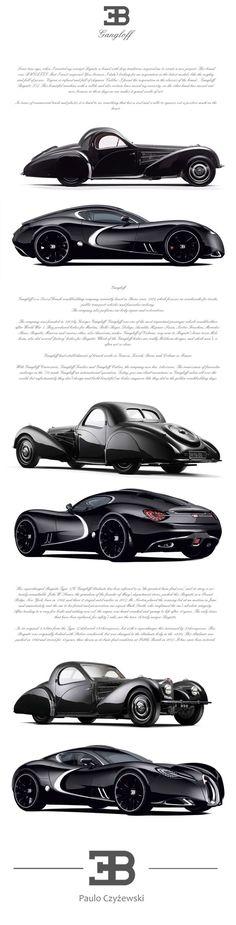 BUGATTI GANGLOFF CONCEPT CAR , INVISIUM by Paweł Czyżewski, via Behance - https://www.luxury.guugles.com/bugatti-gangloff-concept-car-invisium-by-pawel-czyzewski-via-behance-2/