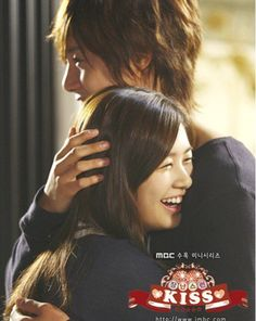 Playful kiss. Kim Hyun Joooooong!!! ahhhhhhh! sooooooooooooo watching this!!!!!
