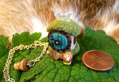EPBOT: My Geeky & Girly Etsy Wish List  hobbit hole necklace gildedpixel