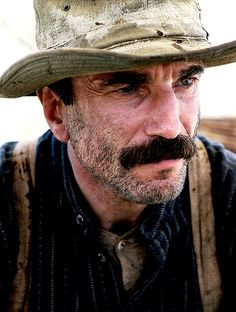 "Daniel Day Lewis as Daniel Plainview. ""There Will Be Blood"" and ""Lincoln"" are easily my favorite films. The most versatile actor ever."