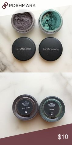 Bare Minerals Single Shadows - SMALL sizes Bare Minerals Single Shadows - SMALL size, not full size. See pictures for shade names. Sephora Makeup Eyeshadow