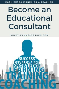 If you love reading everything you can about a very specific topic in education, educational consulting might be for you. Career Change For Teachers, Jobs For Teachers, Consultant Business, Education Consultant, Tutoring Business, Professional Development For Teachers, Special Needs Students, Legitimate Work From Home, Instructional Coaching