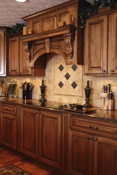 Very nice tile work and cabinetry!! Love it!
