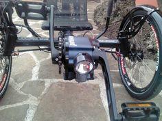 AZUB recumbents blog » AZUB with Pinion gearbox and BionX