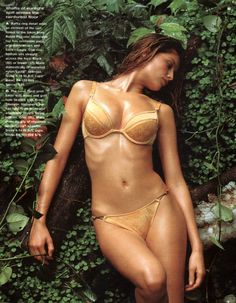Laetitia Casta for Victoria's Secret (late 90s)