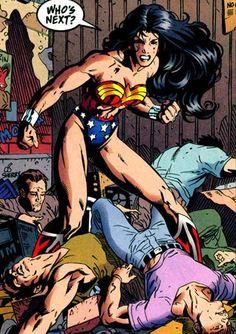 Wonder Woman: Beating Up Some Guys ®