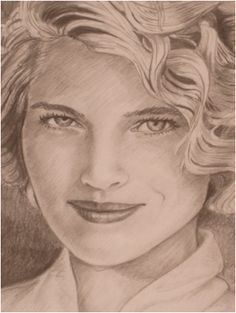 Here is a pencil portrait I made of one of my awesome friends! ( I can also do portraits in pencil in which there is no color.)